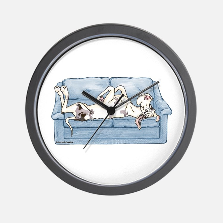 Merlequin couch Wall Clock