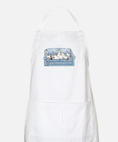 Merlequin couch Apron
