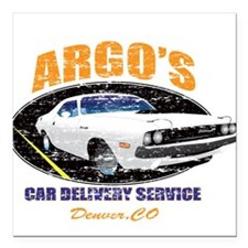Argo's Car Delivery Square Car Magnet