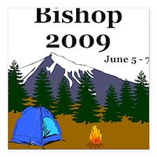 Bishop Trip 2009 Square Car Magnet