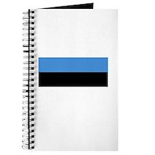 Estonia flag Journal