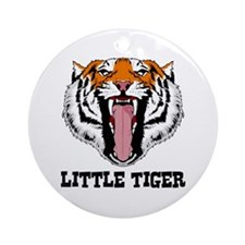 Little Tiger Ornament (Round)