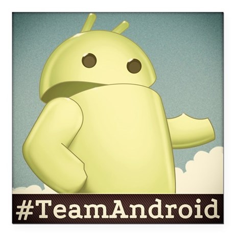 Android Central Square Car Magnet