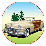 Classic chrysler car Car Magnets