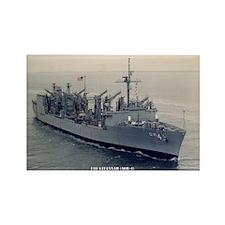 USS SAVANNAH Rectangle Magnet