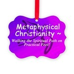 Metaphysical Christianity TShirt Picture Ornament