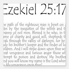 Ezekiel 25:17 Square Car Magnet