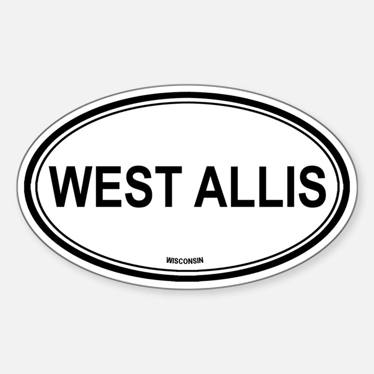 West Allis (Wisconsin) Oval Decal