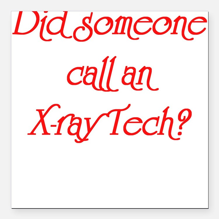 X-Ray Tech Square Car Magnet