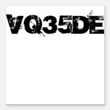 Nissan VQ35DE Engine Code Square Car Magnet