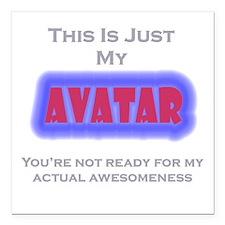 Avatar Square Car Magnet