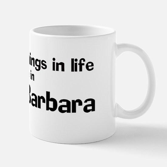 Santa Barbara: Best Things Mug