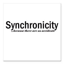 Synchronicity Square Car Magnet