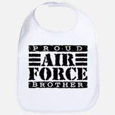 Proud Air Force Brother Bib