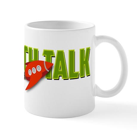 SciFi Tech Talk Logo Transparent Mug