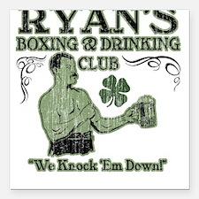 Ryan's Club Square Car Magnet