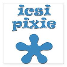 Icsi Pixie Baby Creeper Square Car Magnet