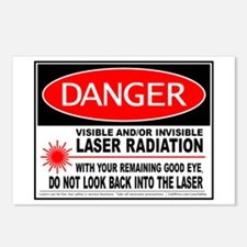 Laser Safety Postcards (Package of 8)