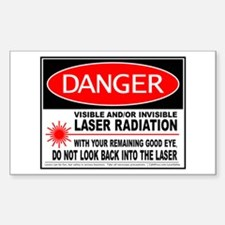 Laser Safety Decal