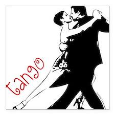 Tango Square Car Magnet