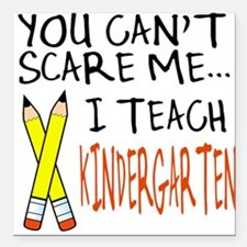 Kindergarten Teacher Square Car Magnet