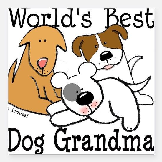 Dog Grandma Car Magnets Cafepress