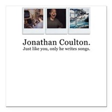 Jonathan Coulton. He writes s Square Car Magnet