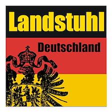 Landstuhl Deutschland Square Car Magnet