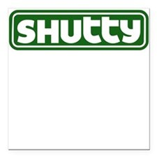 Shutty Square Car Magnet