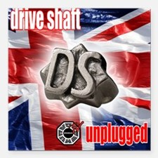 Drive Shaft Unplugged Square Car Magnet