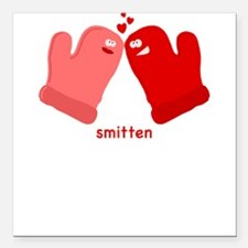 Smitten Mittens Men's Square Car Magnet