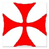 Knights templar Car Magnets