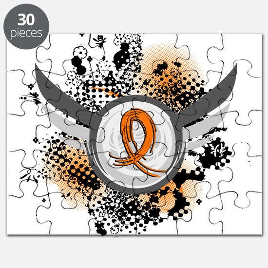 Wings and Ribbon Multiple Sclerosis Puzzle