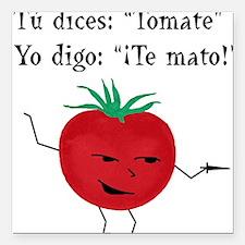 Tomate Square Car Magnet