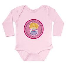 Daddy's Little Princess Long Sleeve Infant Bodysui