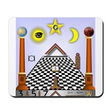 Masonic Lodge Mousepad
