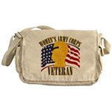 Womens army corps Messenger Bag
