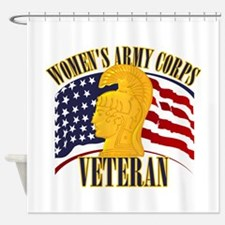 WAC Veteran Shower Curtain