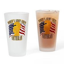 WAC Veteran Drinking Glass