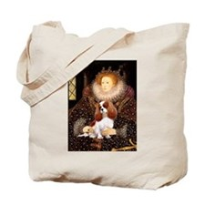 Queen & Blenheim Cavalier Tote Bag