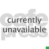Banjo bear Square Car Magnets