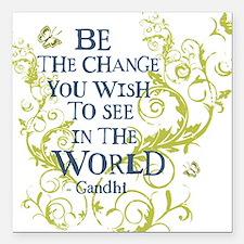 Gandhi Vine - Be the change - Blue & Green Infant