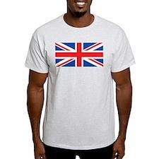 United Kingdom Flag Ash Grey T-Shirt