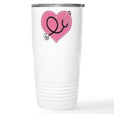 Doctor Nurse Heart Travel Coffee Mug