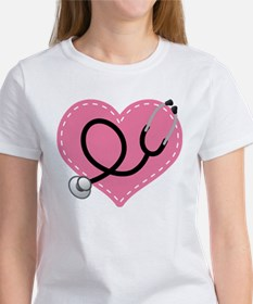 Doctor Nurse Heart Tee
