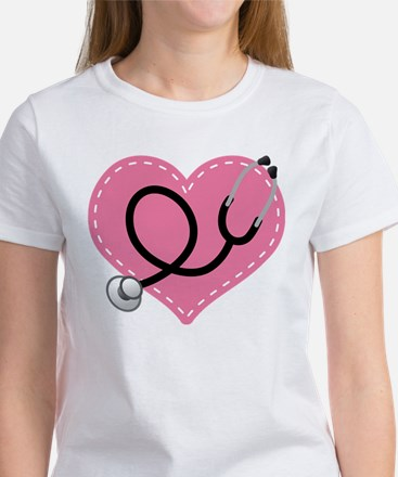 Doctor Nurse Heart Women's T-Shirt