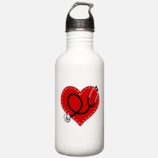 Doctor Nurse Heart Water Bottle