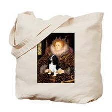 Queen & Tri Cavalier Tote Bag