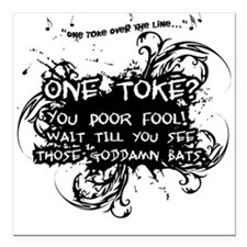 One Toke Square Car Magnet