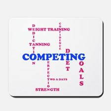 Competing Scabble Design Mousepad